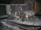 Brand eines Kleintransporters in Zifling