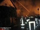 Brand Lagerschuppen in Atzenzell