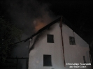 Wohnhausbrand im Stadtteil Chammünster