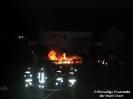 Brand eines Schuppens in Katzbach