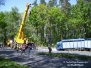 Schwerer Verkehrsunfall B22 Parkplatz Willmering