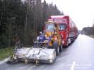 Verkehrsunfall B20 bei Weiding