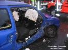 Verkehrsunfall Stadtgebiet Person eingeklemmt