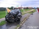 Verkehrsunfall B20 bei Oberbühl