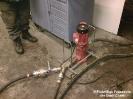 Brand Biogasanlage Unterprombach