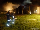 Brand Biogasanlage Unterfaustern
