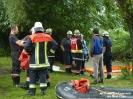 2014.07.22 Öl auf Gewässer Obertraubenbach